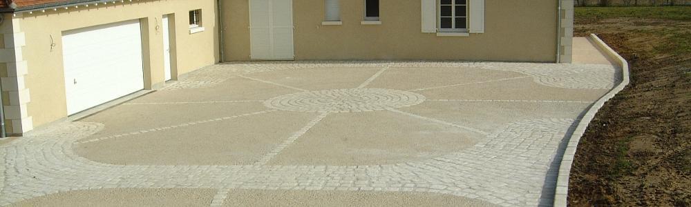 Guillemot travaux publics acc s chemin enrob for Goudron pour terrasse