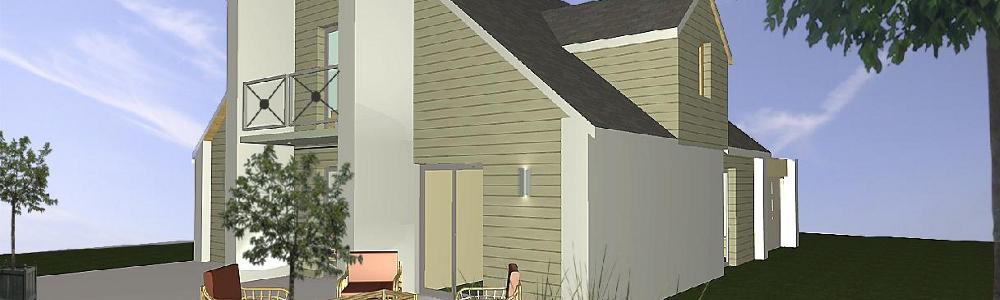 Pierre bois habitat la maison basse consommation architecte ma tre d 3 - Maison basse consommation ...